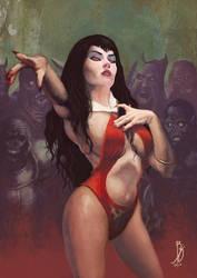 Vampirella by BDAROZ