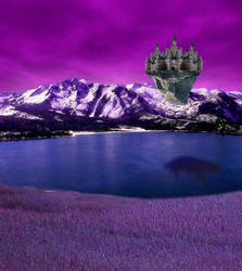 castle of Rhyannon by Alsynia-Fantasyworld