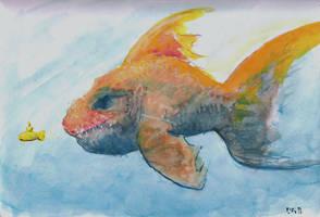 Goldfish by Callego