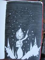Snow Queen Sketch by Callego