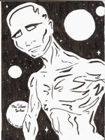 Silver Surfer Sketch by Callego