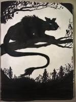 Demon Cat by Callego
