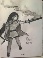 Kara the Valkyrie by Callego