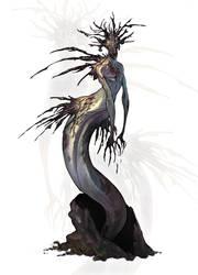Forest mermaid by Ket-DawnAtSunset