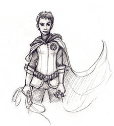 Damian Wayne by Sjostrand