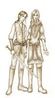 FitzChivarly and The Fool by Sjostrand