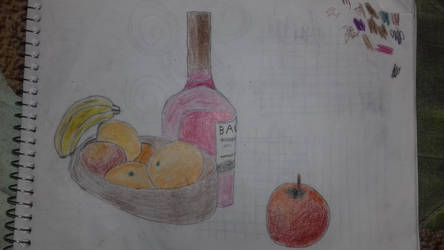 Still Life. Draw by artgh