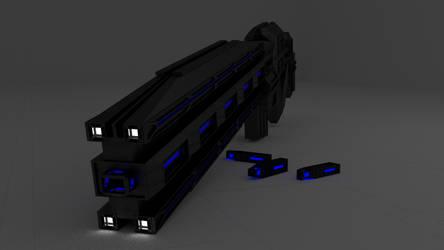 Railgun by D1C4P