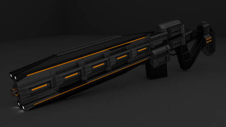 Railgun [3] by D1C4P