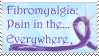 fibromyalgia stamp by Kazekoh