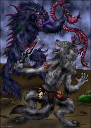 Talbert confronts Grilorgaire by swiftrat
