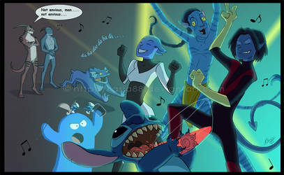 I'm blue... by Sythgara