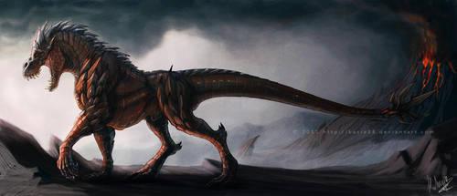 Ferinusaurus by Sythgara