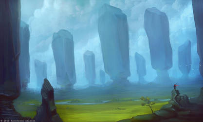 Land of giants by Sythgara