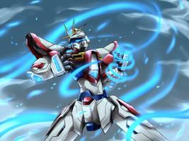 Build Burning Gundam by PinguinKotak