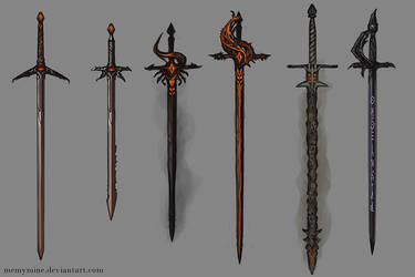 Swords by MeMyMine