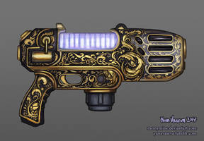 Fancy Plasma Pistol by MeMyMine