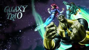Galaxy Trio Homage by MarioPons