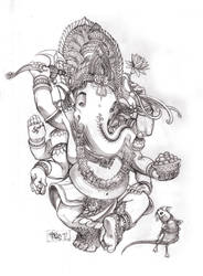 Ganesha by MarioPons