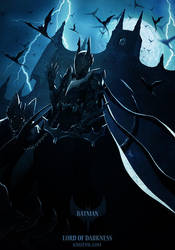 Batman - Lord of Darkness by KrizEvil