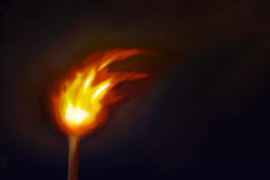 Fire in the Dark by gabriev82