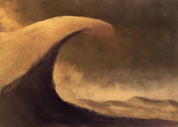 Sand wave by gabriev82