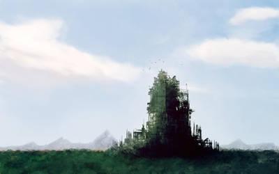 Green Ruins by gabriev82