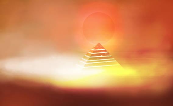 Alien pyramid by gabriev82