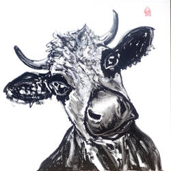 Repanda vache by Aurelie-Cholley