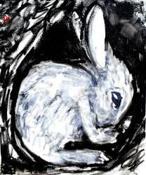 Baby bunny by Aurelie-Cholley
