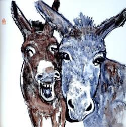 MR et MM Donkey by Aurelie-Cholley