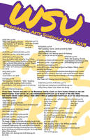 Weber State University 2012-2013 PA Schedule by LinsWard