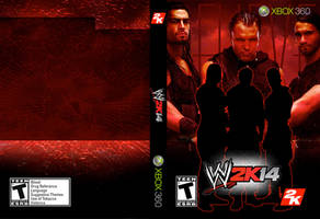 WWE 2K14 Full Shield Cover by LinsWard