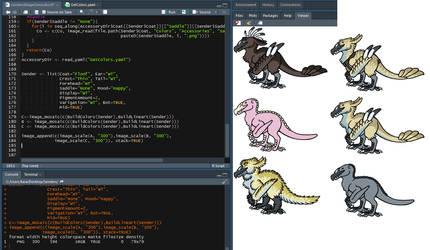 Coding Senders by Chikara-Redwing