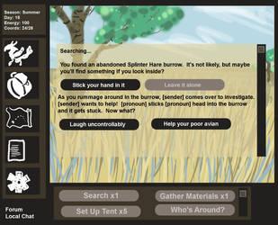 Senders UI Demo by Chikara-Redwing