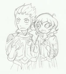 FE:A - look at my beautiful children i love them by StarXrossed