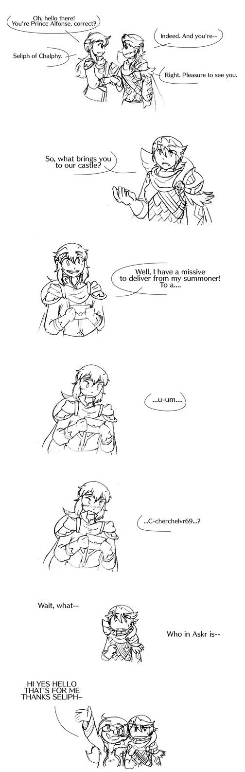 FEH A Missive For Who Now By StarXrossed