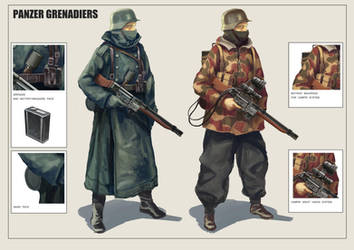 Panzer Grenadiers by CoolRoc