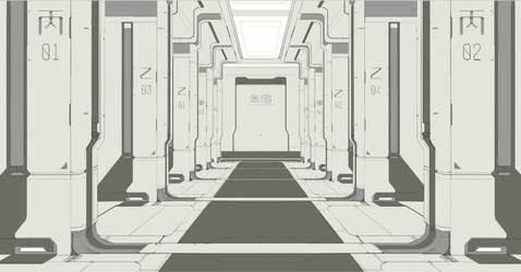 Corridor by CoolRoc