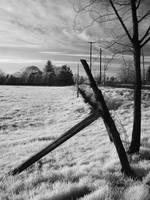 Fence on sky by GiovanniZero