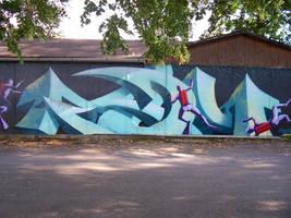 graffiti by bloodJanie
