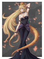 Bowsette by Kaito-ken