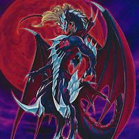Number 24 Dragon Nosferatu Dragulas by Youssef-Mamdouh