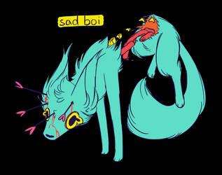 Sad Boi by YukiMatcha02