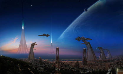 Space Port by edlo