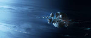 Death of Triton by edlo
