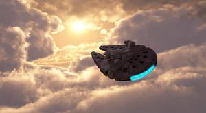 SW Millenium Falcon study 2 by edlo
