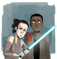 The ship is strong with these two by Yokiter