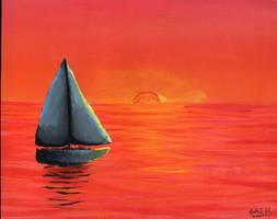 Sunset by fieryfae