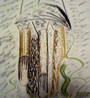 Bamboo chimes by fieryfae